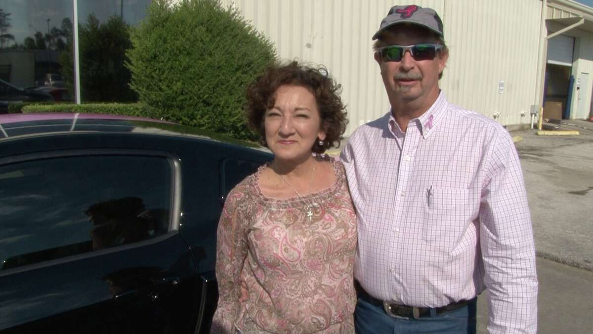 Gabriela Spellman and her husband, David, will pick up the special car on Oct. 31.