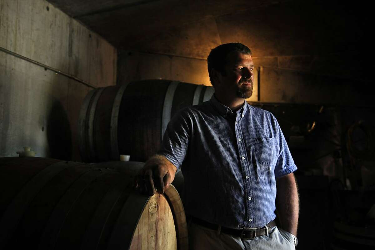 Luke Bass is the winemaker at Porter-Bass Vineyard & Winery, located 9 miles from the ocean in Guerneville.