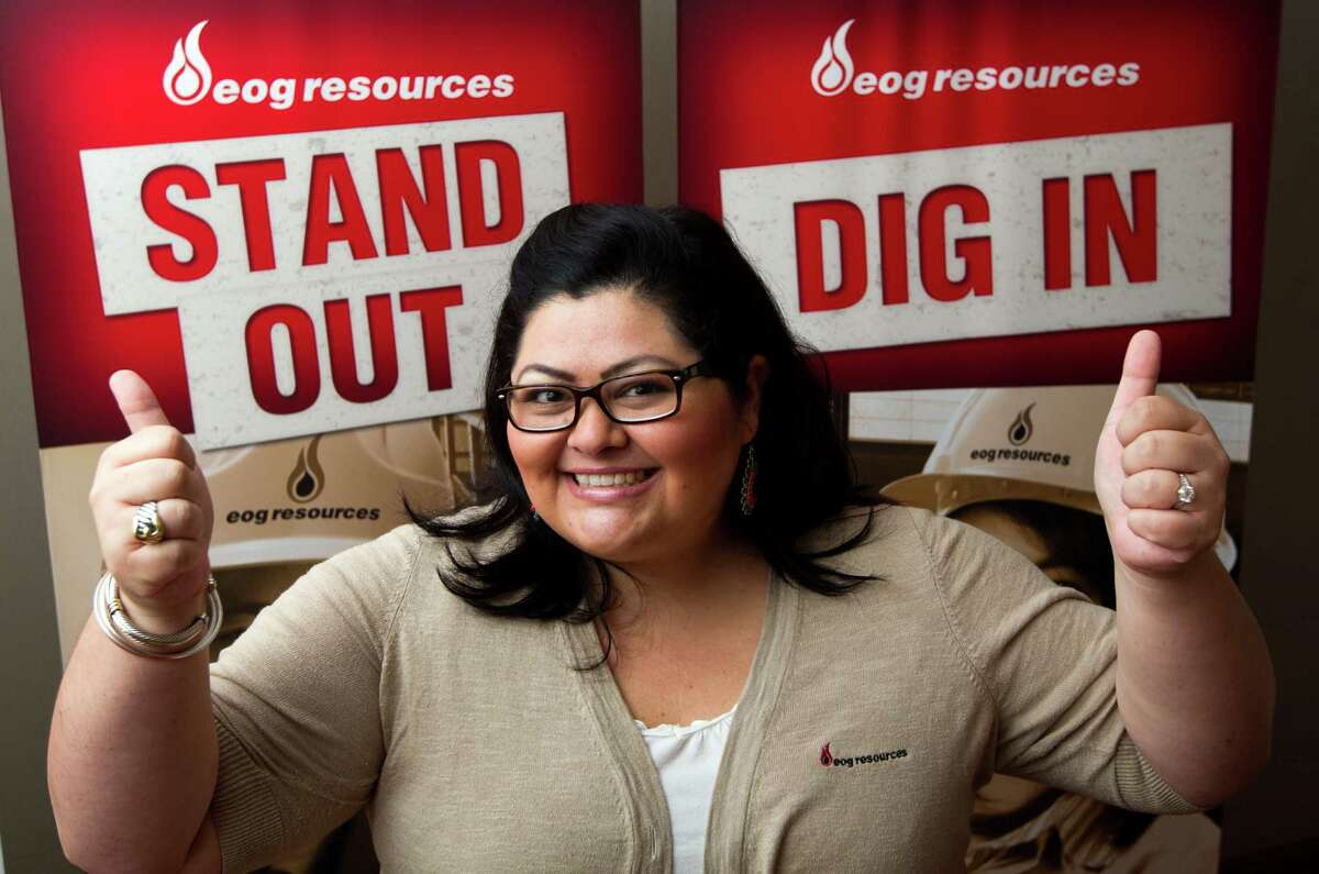 EOG Resources has garnered Top Workplaces awards for its working environment, which staffing representative Kelly Scharkopf says has increased the number of job applicants and interest in the company, including on college campuses.