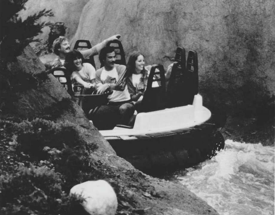 Thunder River in AstroWorld is pictured on May 22, 1980. Photo: Houston Chronicle