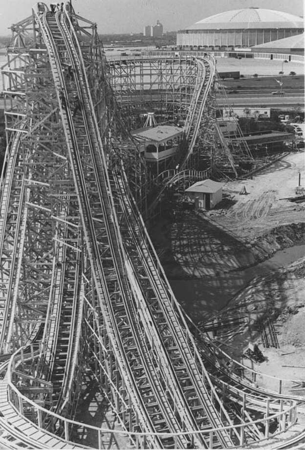 The Texas Cyclone is pictured on June 12, 1976. Photo: Houston Chronicle