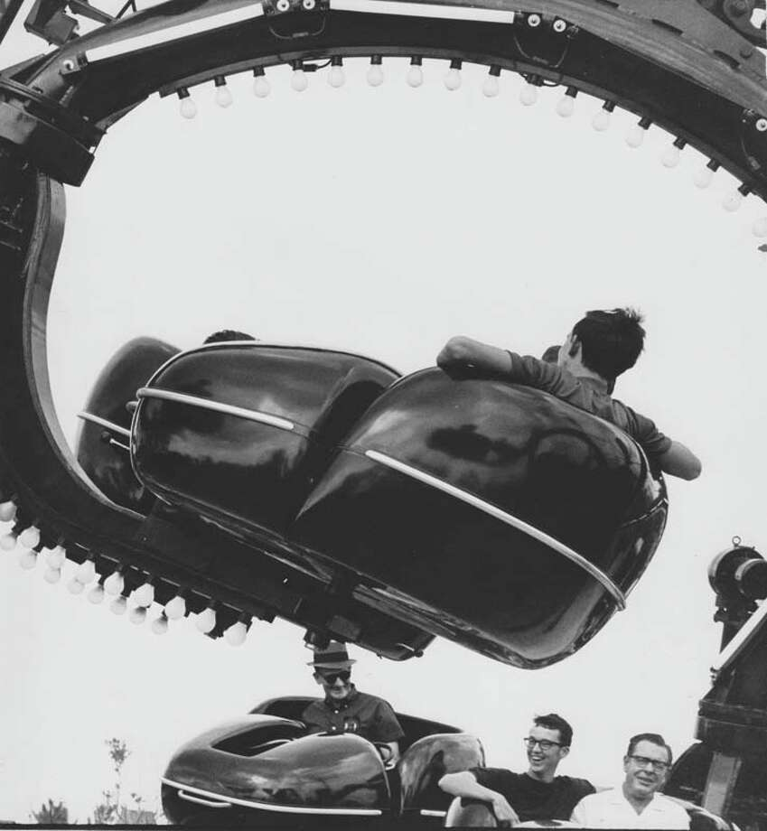 The Black Dragon also opened in AstroWorld's inaugural year. It is pictured on June 1, 1968. Photo: Houston Chronicle