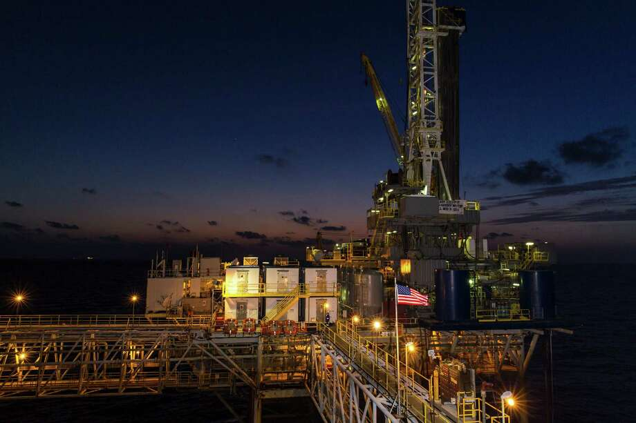 The West Delta 73 Field is a project of Energy XXI. A worker says the company cares about employees, the environment, the community and investors. Photo: Energy XXI / © Martin L Vargas / blueprint.tv for Energy XXI