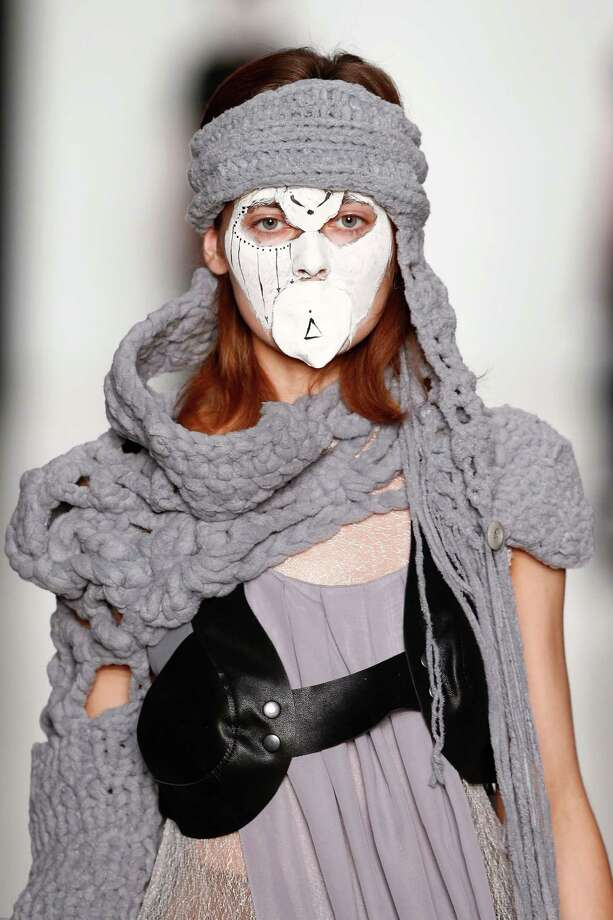 Q: Fashion Week or Halloween Costume?A: Fashion Week Photo: Kristina Nikishina, Getty Images / 2013 Getty Images
