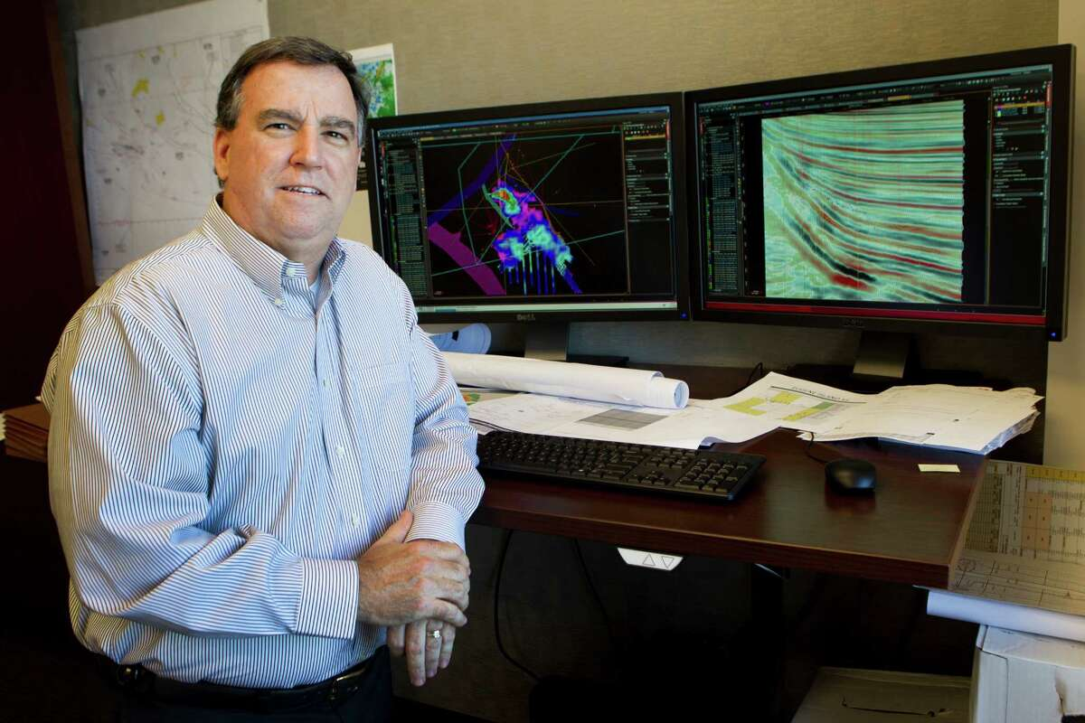 Ben Winkelman, senior geoscientest, poses for a photo at Talos Energy Thursday, Sept. 26, 2013, in Houston. ( Brett Coomer / Houston Chronicle )
