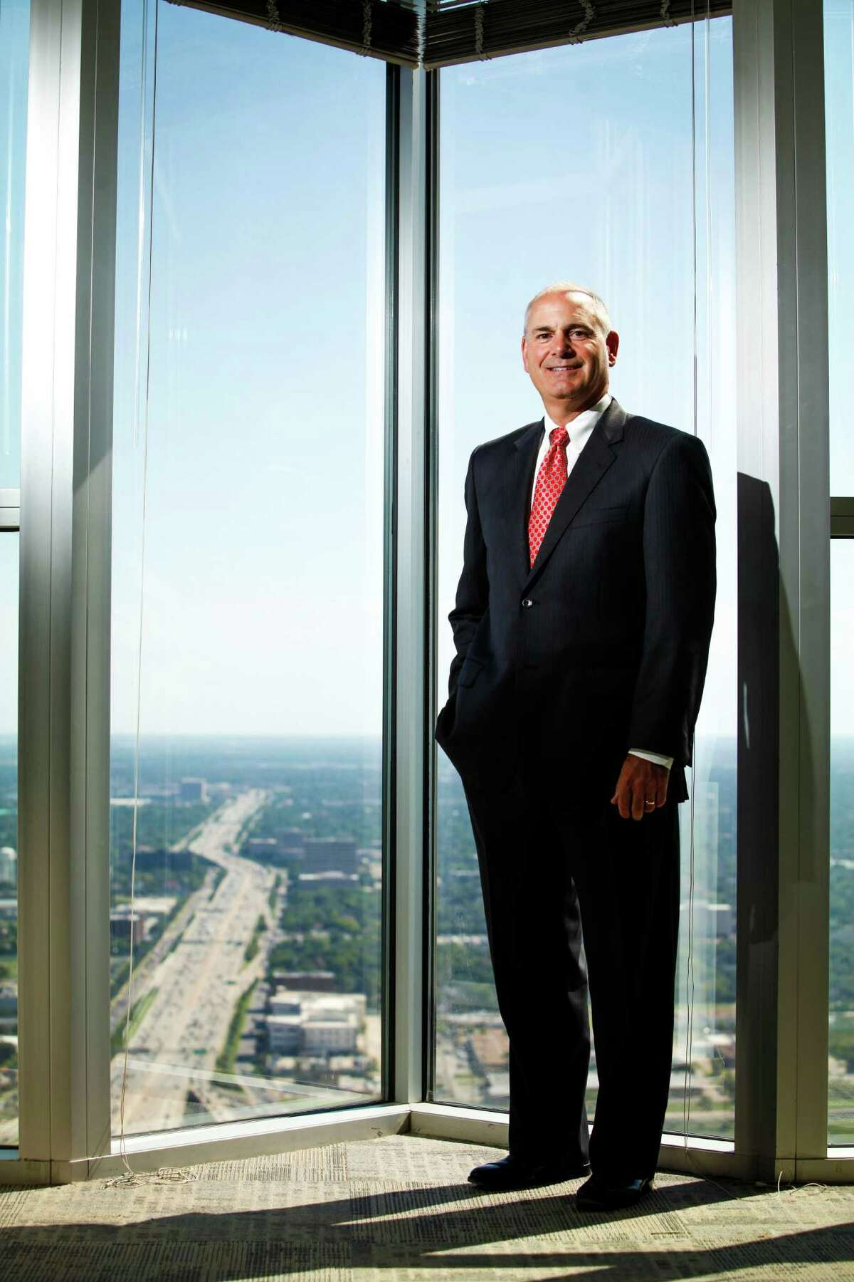Larry O'Donnell, CEO of Rockwater Energy Solutions, Sept. 26, 2013 in Houston. (Eric Kayne/For the Chronicle)