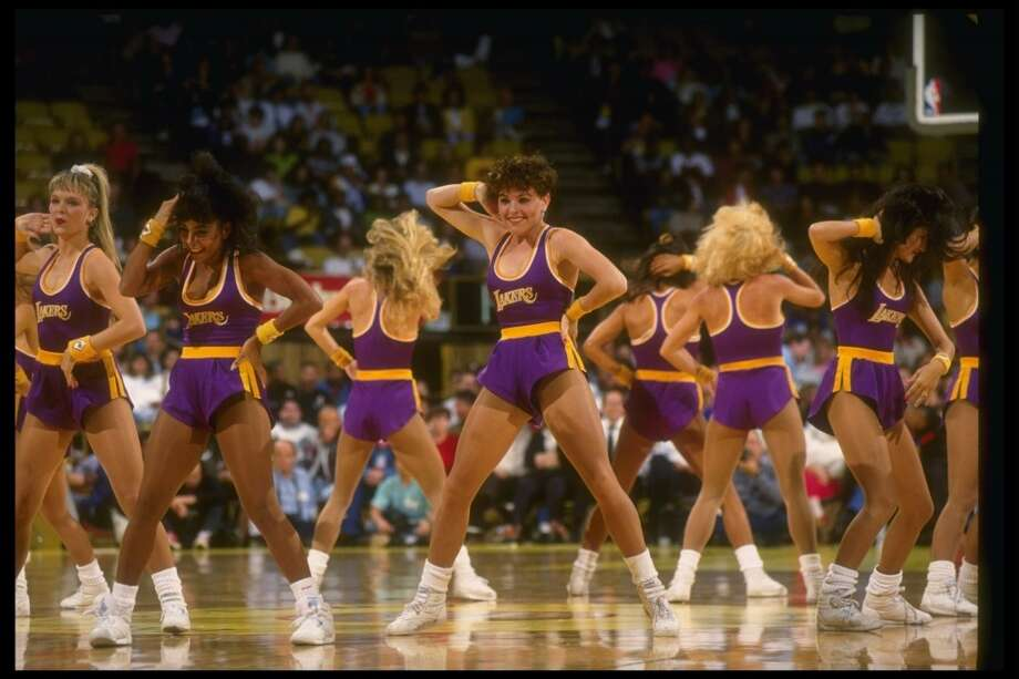 Laker Girls, 1990s Photo: Stephen Dunn, Getty Images