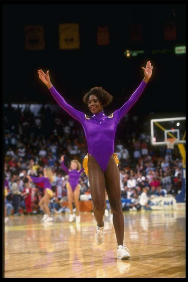 Laker Girls, late 1980s Photo: Stephen Dunn, Getty Images