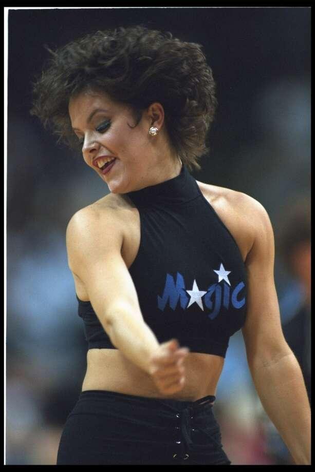 Orlando Magic dancer, 1995 Photo: Getty Images