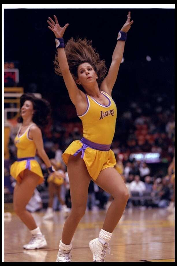 The Laker Girls, 1996 Photo: Todd Warshaw, Getty Images