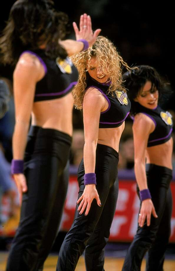Laker Girls, 1999 Photo: Todd Warshaw, Getty Images