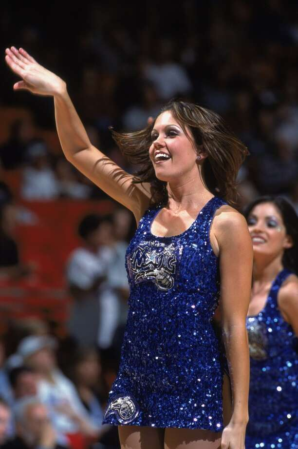 Orlando Magic dancers, 2001 Photo: Andy Lyons, NBAE/Getty Images