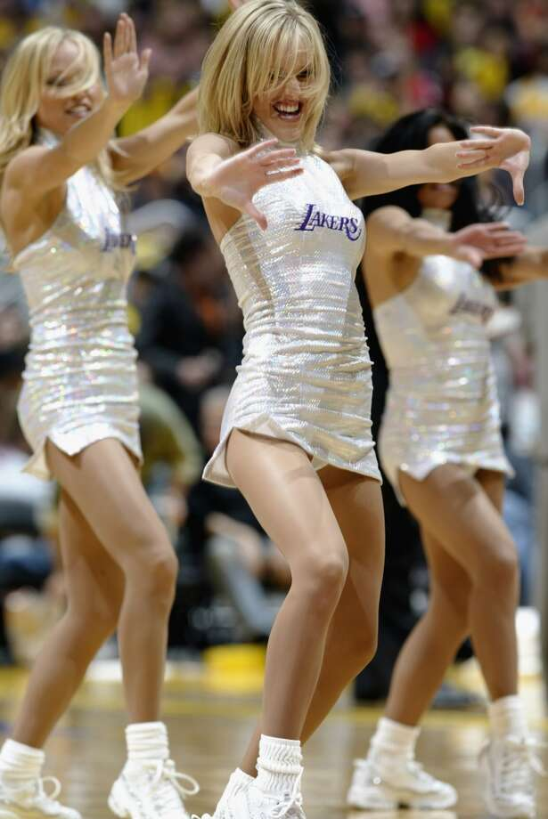 The Laker Girls, 2003 Photo: Jeff Gross, Getty Images