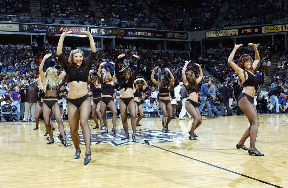 Sacramento Kings Royal Court Dancers, 2003 Photo: Otto Greule Jr, Getty Images