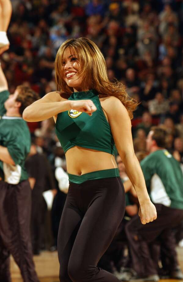 The Sonics dance team, 2003 Photo: Otto Greule Jr, Getty Images