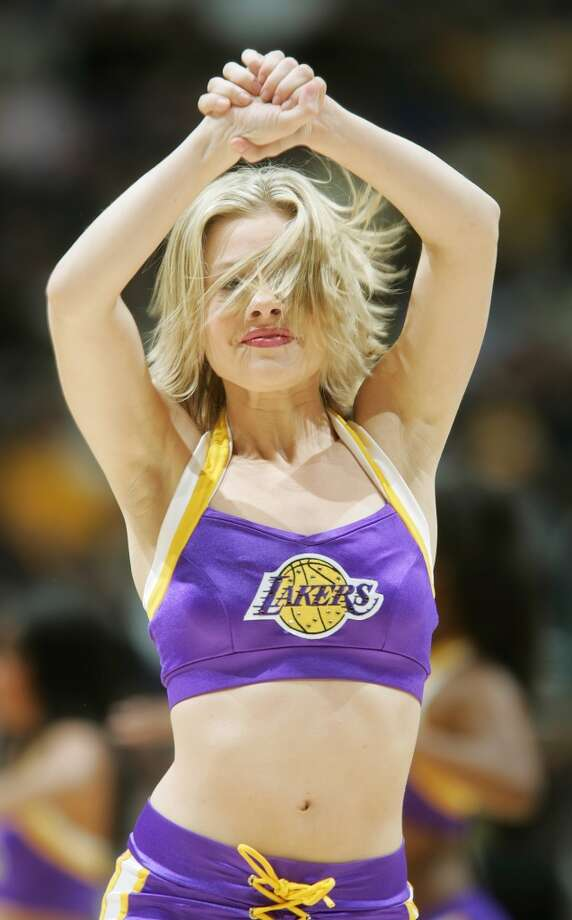 Laker Girls, 2004 Photo: Jeff Gross, Getty Images