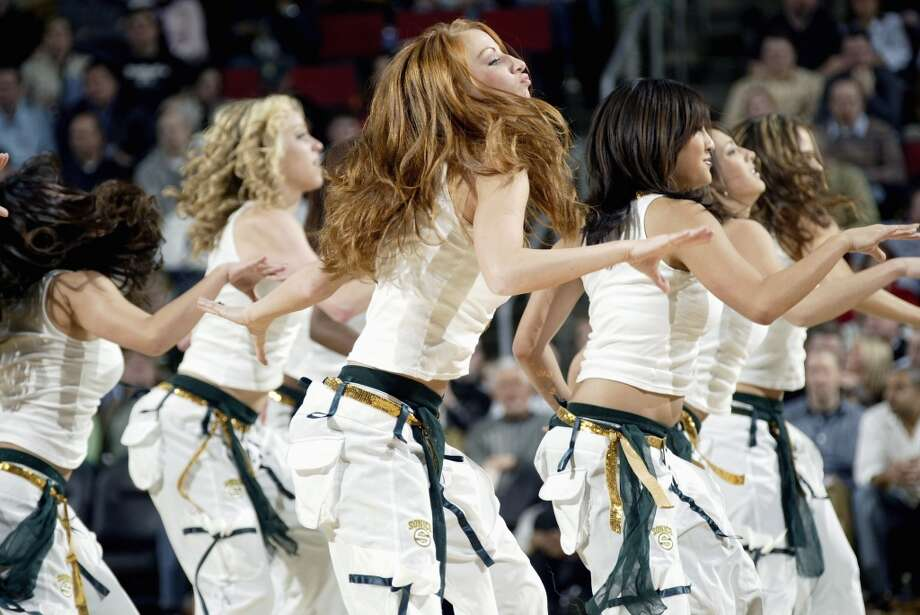 Seattle SuperSonics dance team, 2006 Photo: Otto Greule Jr, Getty Images