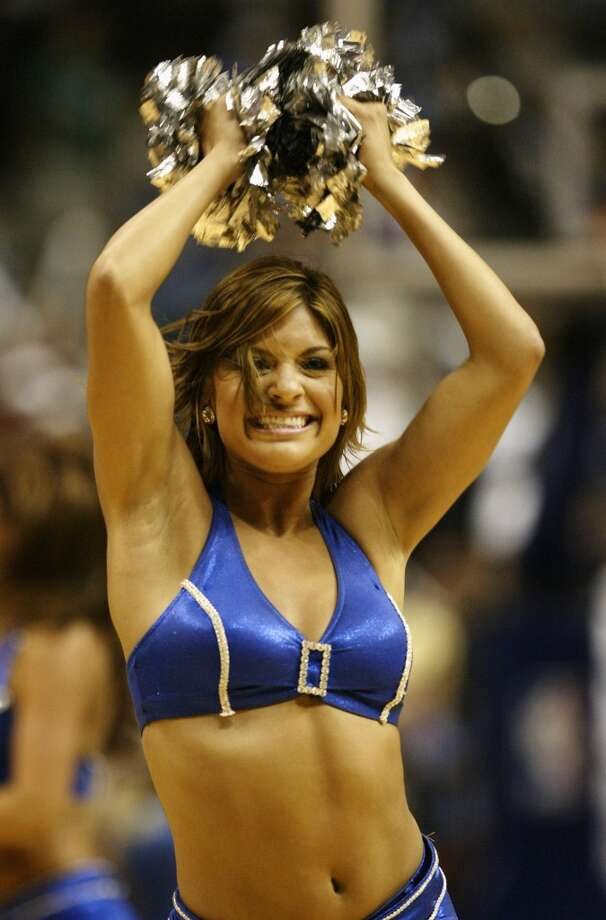 Dallas Mavericks dance team, 2006 Photo: Ronald Martinez, Getty Images