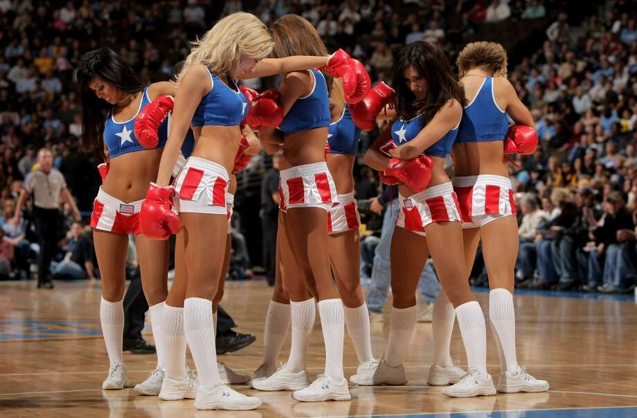Denver Nuggets dance team, 2008 Photo: Doug Pensinger, Getty Images