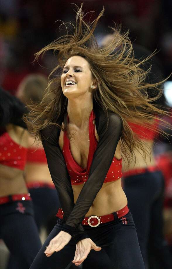 Houston Rockets Power Dancers, 2009 Photo: Ronald Martinez, Getty Images