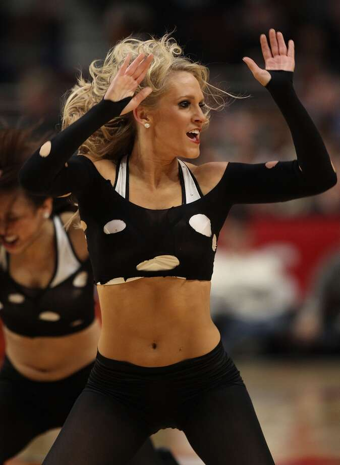 Chicago Bulls' Luvabulls, 2010 Photo: Jonathan Daniel, Getty Images