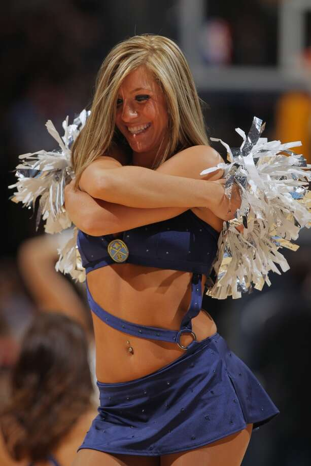 Denver Nuggets dance team, 2012 Photo: Doug Pensinger, Getty Images