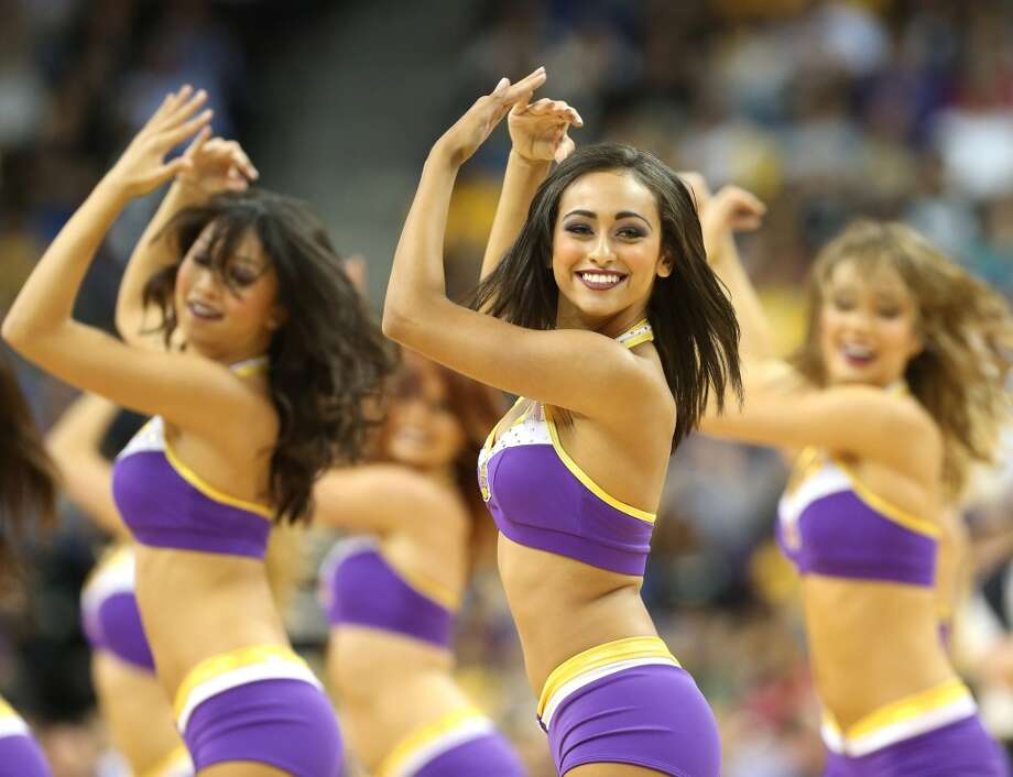 The Laker Girls, 2012 Photo: Stephen Dunn, Getty Images