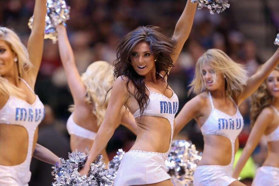 Dallas Mavericks dance team, 2013 Photo: Ronald Martinez, Getty Images