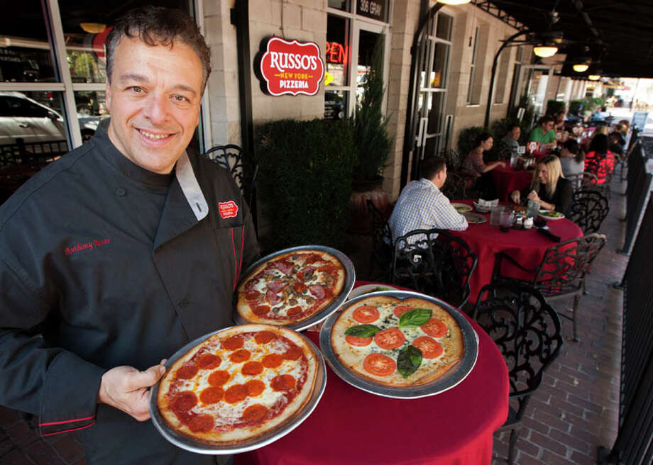Russo's New York Pizzeria founder Anthony Russo.  