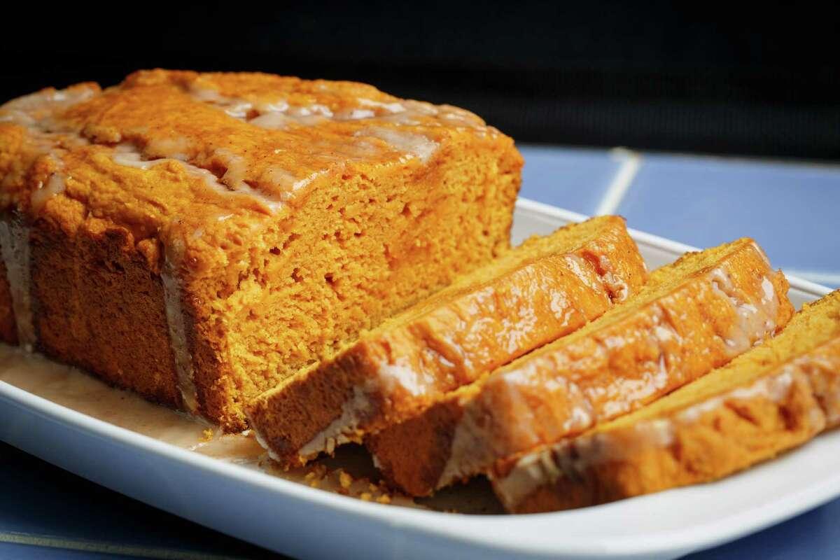 Simple to prepare, Two-Ingredient Pumpkin Cake is a pleasing fall treat.