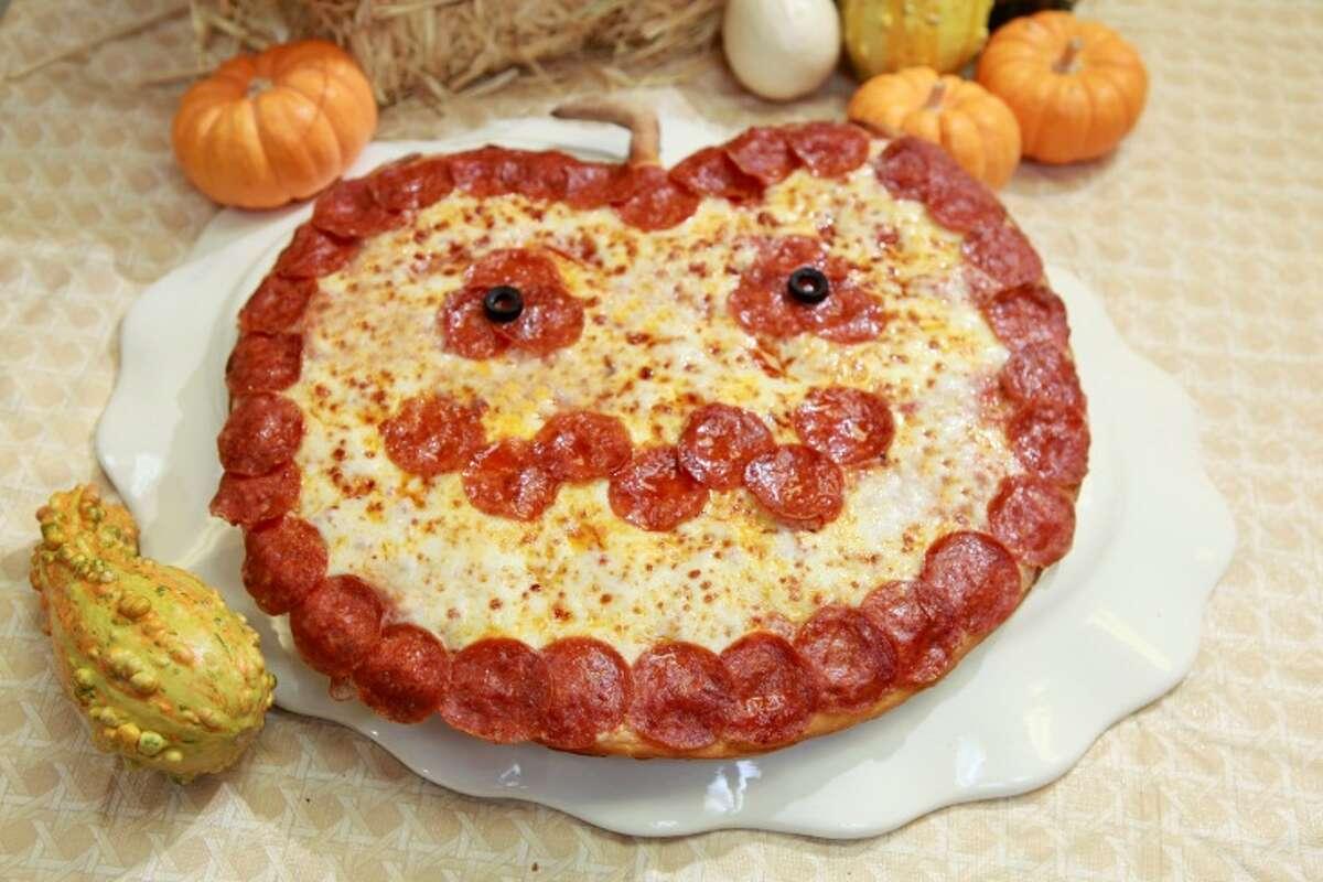 Jack-O-Lantern Pizzas are available Wednesday and Thursday at Papa John's.