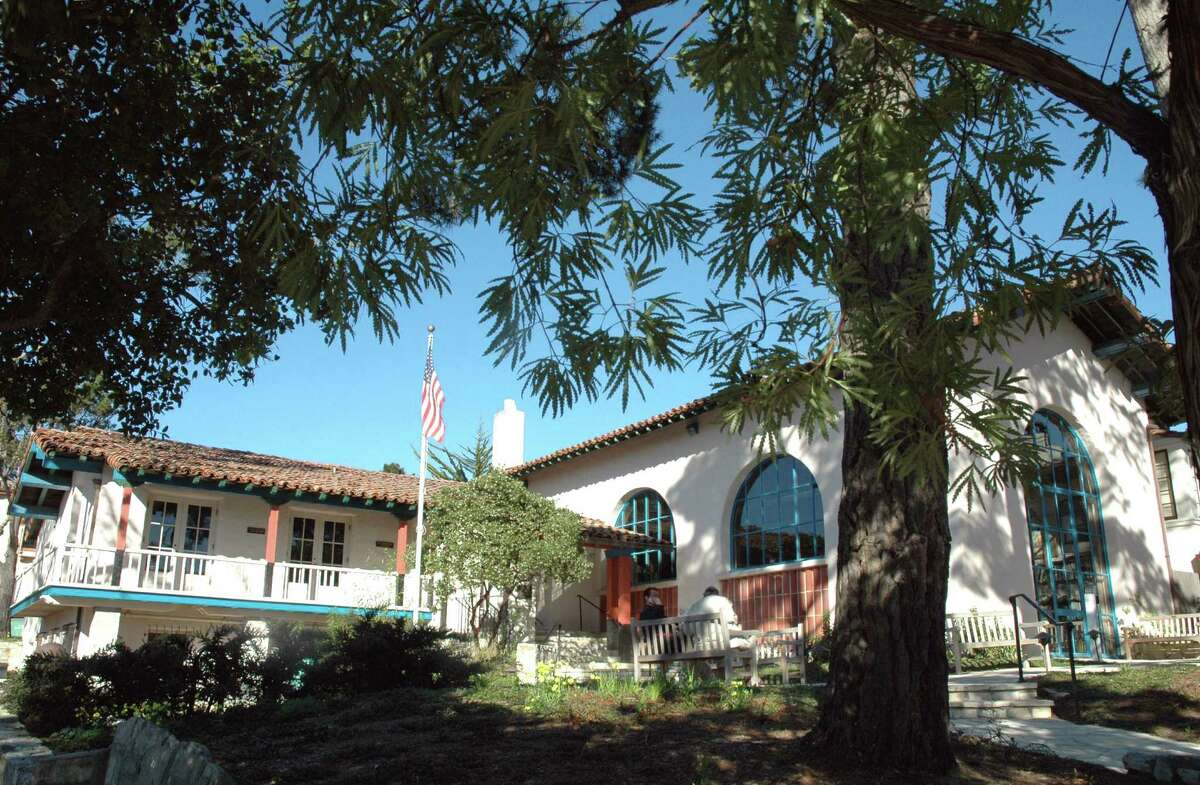 Carmel's Harrison Memorial Library may not be grand, but it's the perfect place to get cozy with a good book.