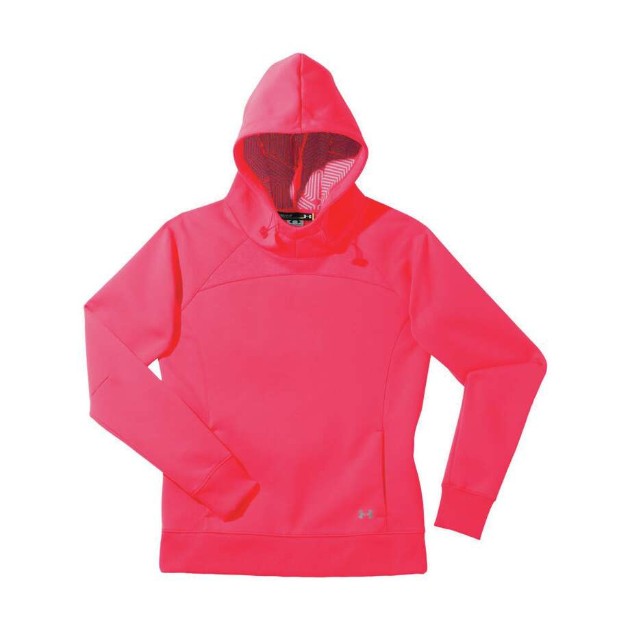 Under Armour ColdGear Infrared Armour Fleece Storm Hoodie. Available at underarmour.com or most sporting good stores.