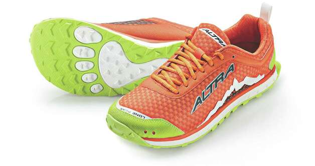 Lone Peak 1.5 sneaker. Available at altra.com, Fleet Feet in Albany and Blue Sky Bicycles in Saratoga.