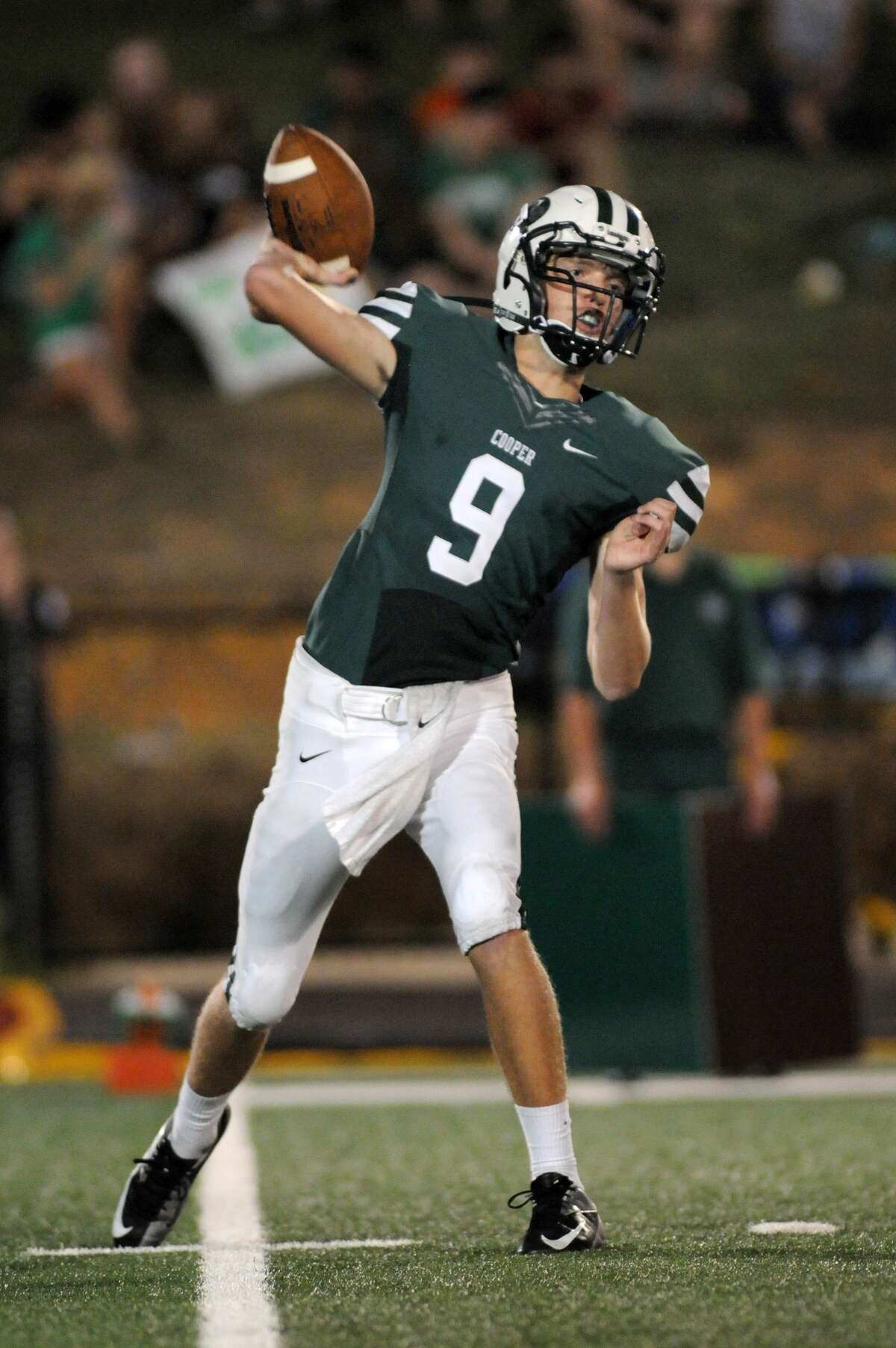 John Cooper School sophomore quarterback Michael Gerber has been solid for the Dragons this year.