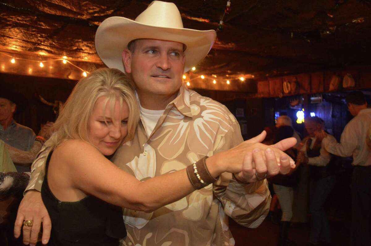 Jerry and Vicky Mason dance to the music of Dale Watson and his Lonestars Band at Blanco's.