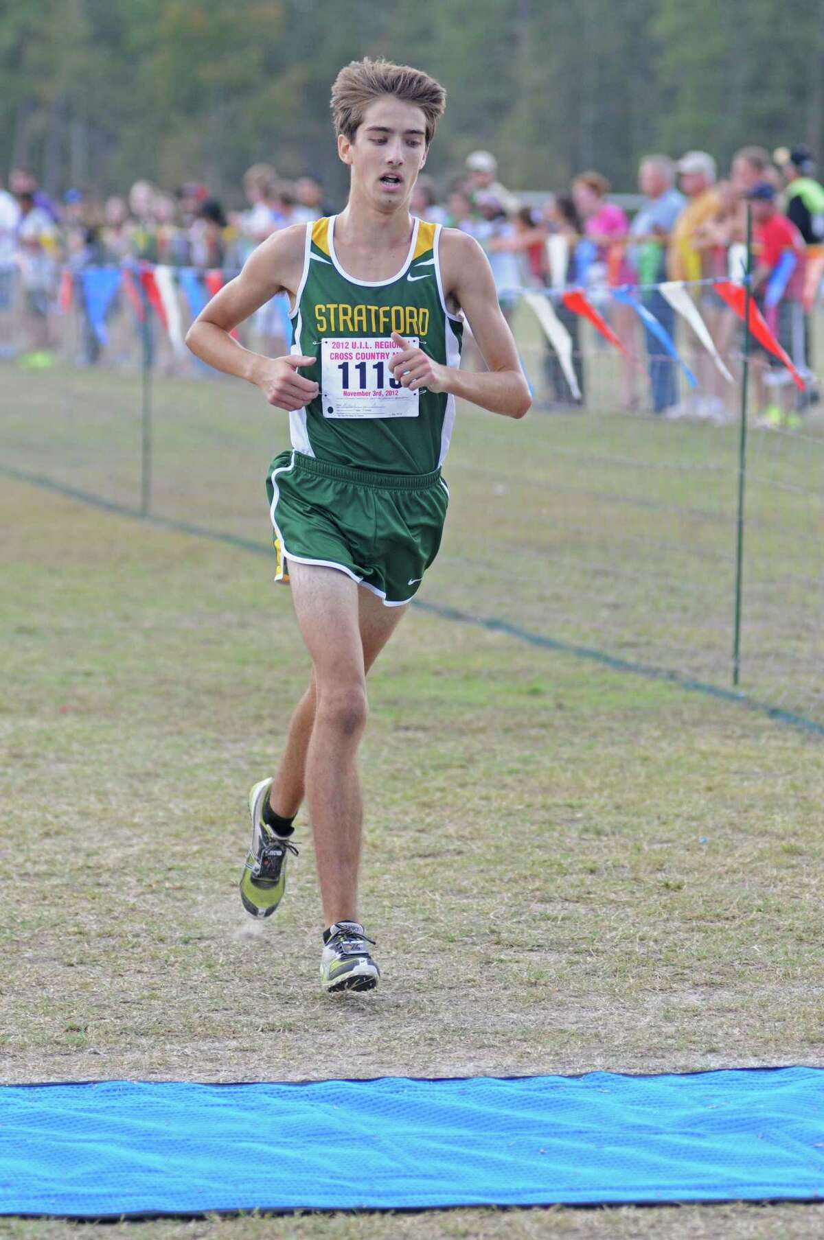 Stratford junior Austin Richard led the Spartans to their first Class 4A cross country title, finishing second individually at the State Meet in Round Rock last weekend.