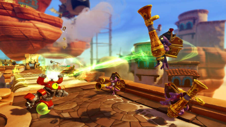 The Skylanders game is popular at No. 7. Photo: Courtesy