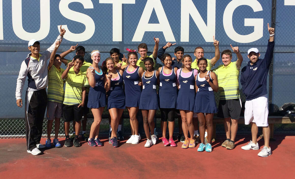 The Cy Ranch tennis team won the area tournament held Oct. 11-18.