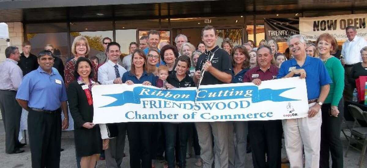 The Friendswood Chamber of Commerce recently welcomed the Twenty 20 Vision Center into the Friendswood business community with a ribbon-cutting ceremony.