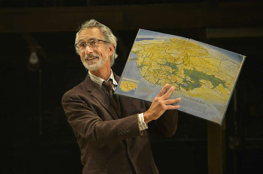 "David Strathairn as the Librarian tries to unravel the mystery of a book overdue for 113 years in ""Underneath the Lintel."" Photo: Kevin Berne"