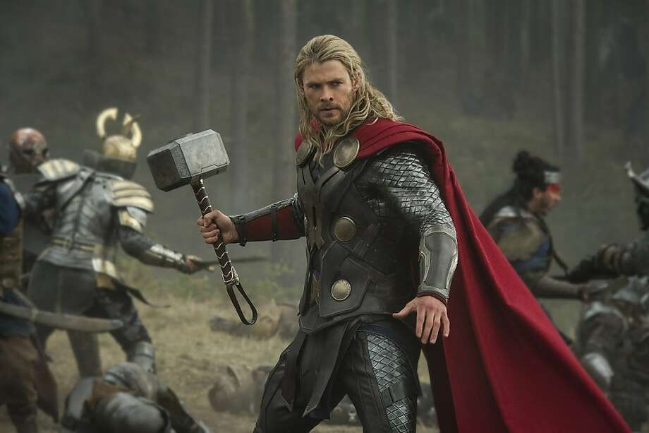 "Chris Hemsworth returns as the otherworldly title hero in Marvel Studios' ""Thor: The Dark World."" Photo: Jay Maidment"