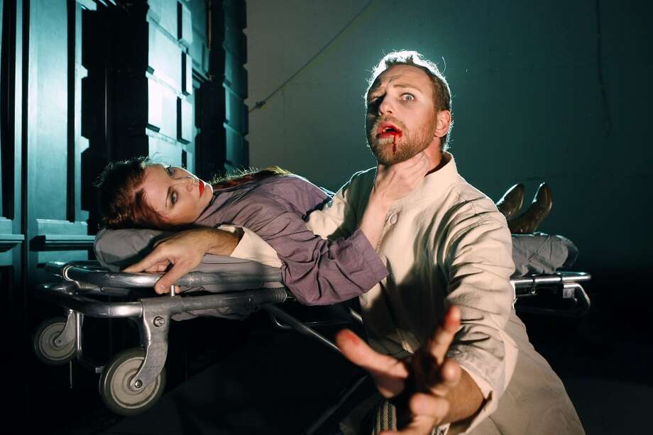 Grand Guignol: This horror play (more fun scary than scary scary) recalls a blood-soaked Parisian theater of the 20th century. It's only here for a few days, so catch it before it's gone. Directed by Mitchell Altieri, one half of the Butcher Brothers filmmaking duo.  (Read our story on the show in Thursday's Chronicle or on SFGate.com). Tickets: $25-$195. 7 and 10 p.m. at Z Space, S.F. www.grandguignolsf.com. Photo: Michael Short, The Chronicle