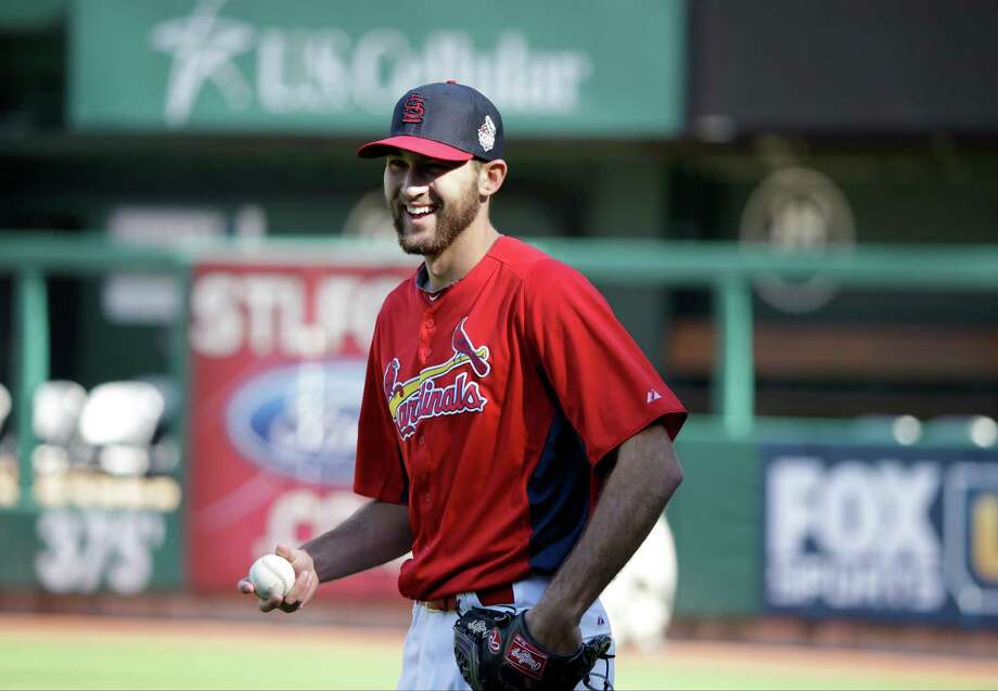 Cardinals starting pitcher Michael Wacha has had a postseason run for the ages and will look to keep it - and St. Louis' season - alive Thursday in Boston. Photo: Charlie Neibergall, STF / AP
