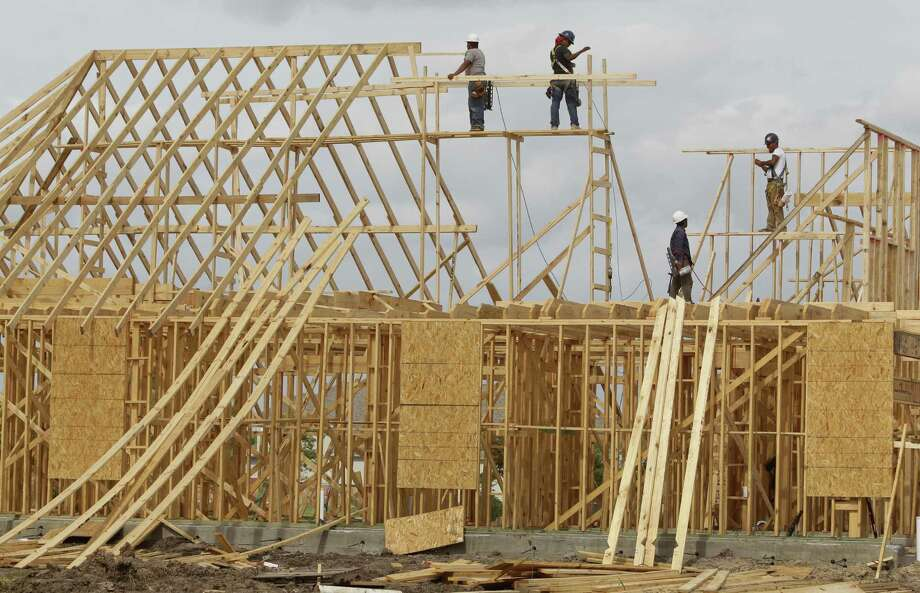 New home construction in Fort Bend County shows the demand for housing in one of the fastest-growing counties in the U.S.  ( Melissa Phillip / Houston Chronicle ) Photo: Melissa Phillip, Staff / © 2013  Houston Chronicle