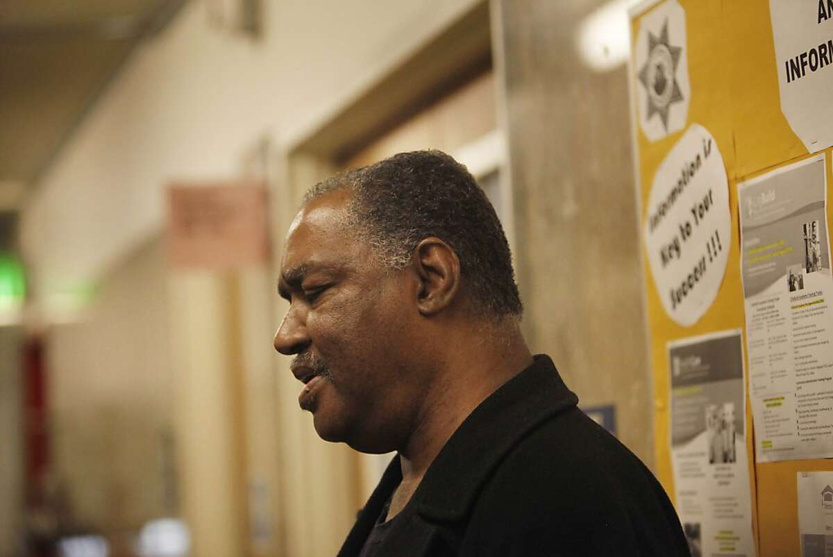 Ricky Smith, long time partner of Jill May, is seen at the Hall of Justice on Monday, September 30, 2013 in San Francisco, Calif.