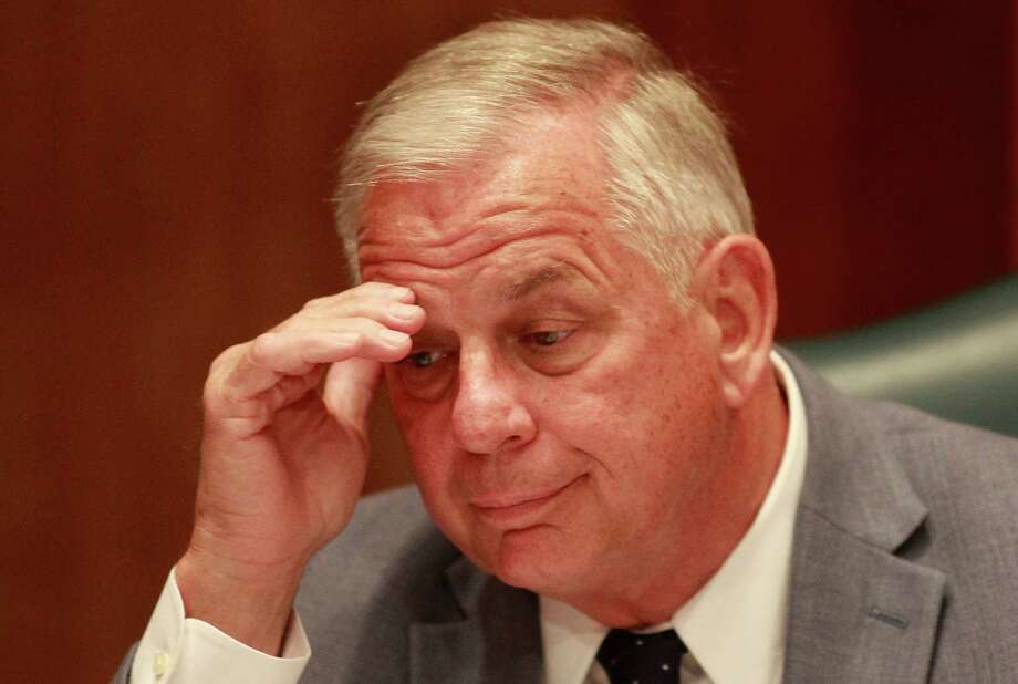 """Congressman Gene Green listens to testimony during a hearing on """"The Need for Comprehensive Immigration Reform in Texas and the Nation"""" on Monday, July 29, 2013, in Houston. ( J. Patric Schneider / For the Chronicle ) Photo: J. Patric Schneider, Freelance / © 2013 Houston Chronicle"""