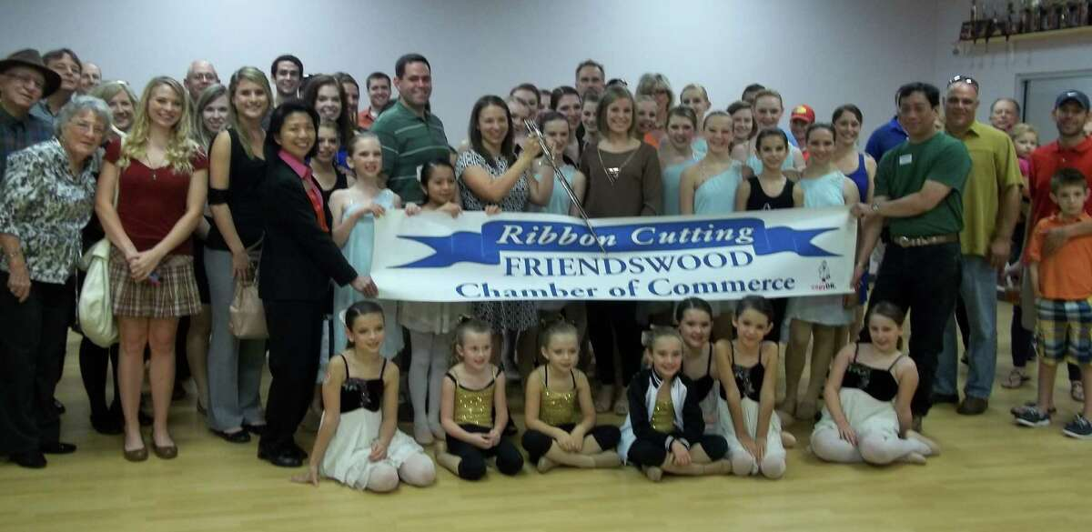 The Chara Christian Dance Academy recently celebrated its opening in Friendswood with a ribbon-cutting ceremony hosted by the Friendswood Chamber of Commerce.