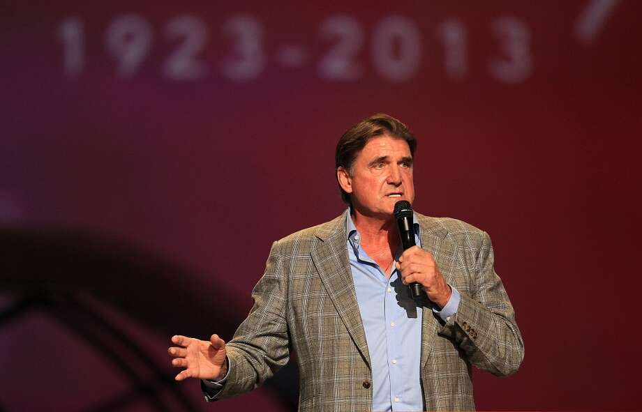 "Dan Pastorini   ""Luv Ya Blue will never die. It will live forever in our hearts and in our minds.""  Photo: Mayra Beltran, Houston Chronicle"
