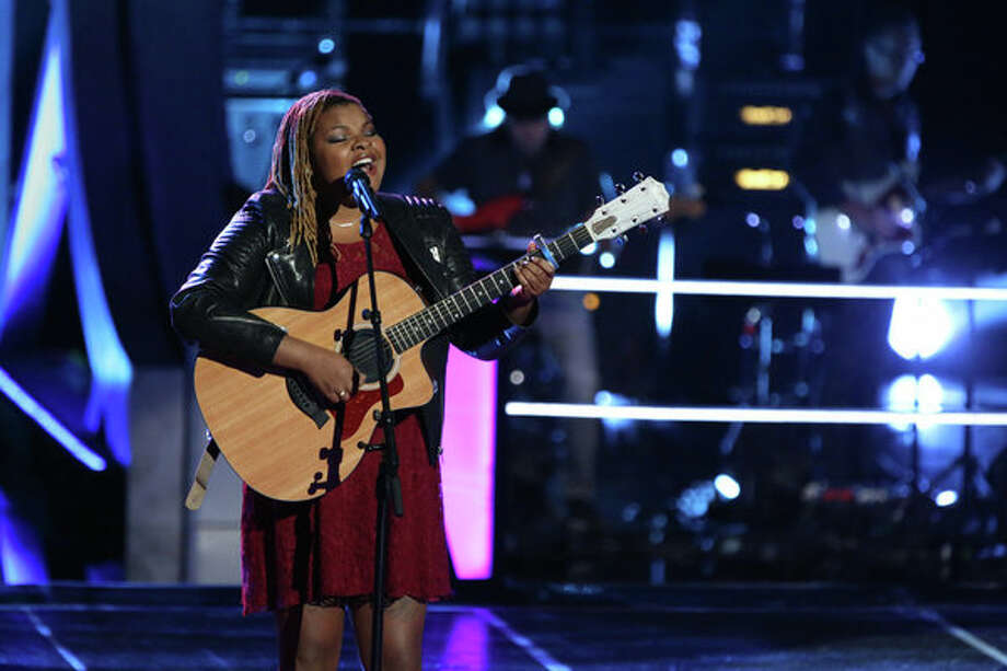 "THE VOICE -- ""Knockout Rounds"" Episode 512 -- Pictured:   Stephanie Anne Johnson -- (Photo by: Tyler Golden/NBC) Photo: NBC, Tyler Golden/NBC / 2013 NBCUniversal Media, LLC"